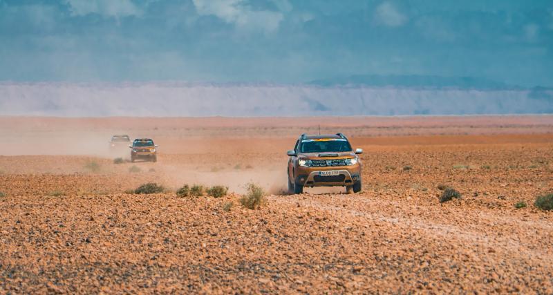 2000 km dans le désert en Dacia Duster : défi relevé