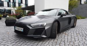 Audi R8 Coupé restylée : notre essai complet de la GT à moteur V10