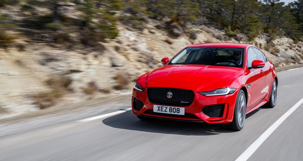 Jaguar XE restylée : découvrez toutes les photos de notre essai