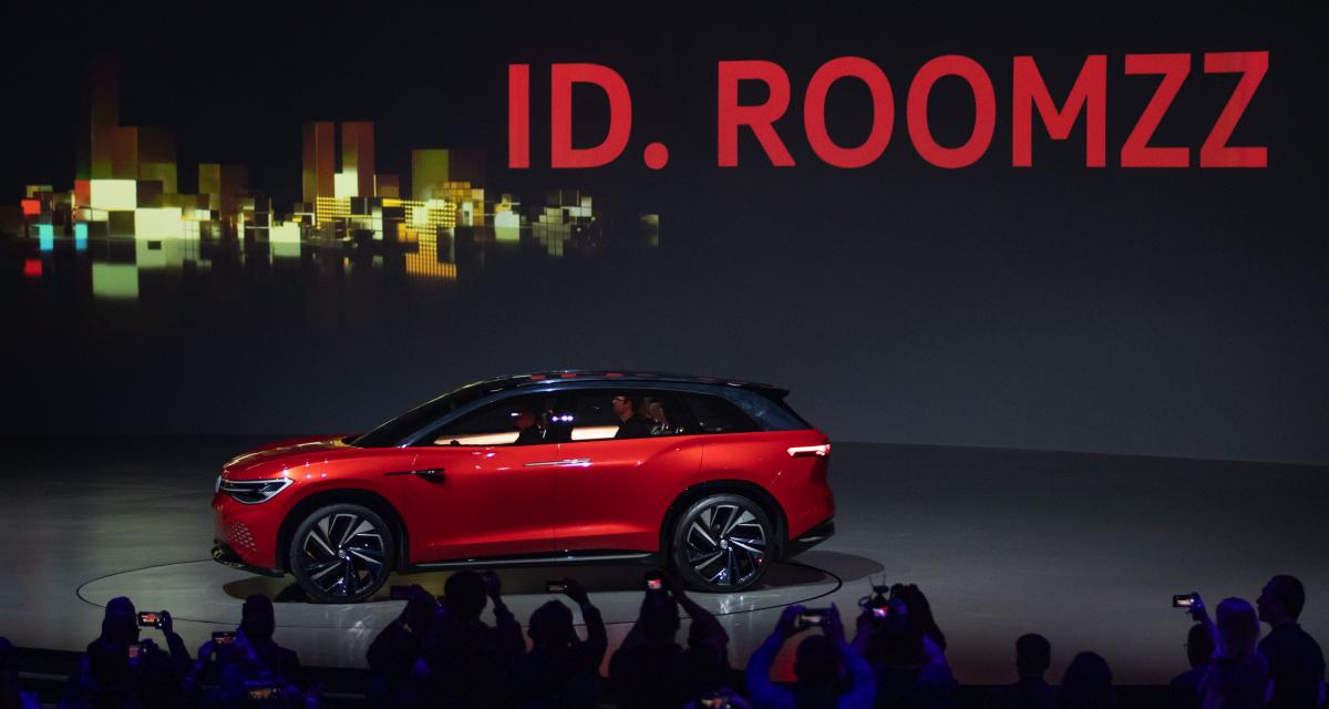 Volkswagen ID RoomZZ : un SUV 7 places 100% électrique
