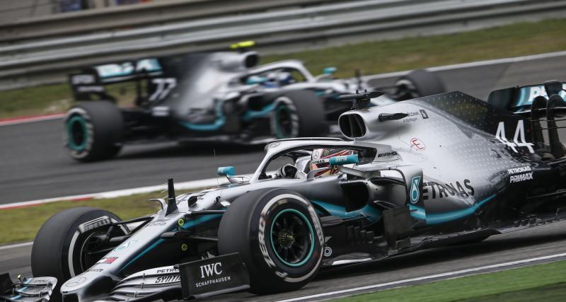 Formule 1 : le doublé Mercedes au Grand Prix de Chine en photos