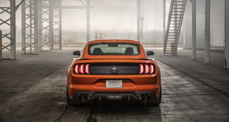 Ford Mustangavec un moteur EcoBoost de 330 chevaux : toutes les photos