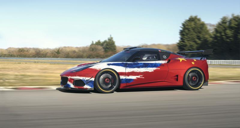 Lotus Evora GT4 Concept: bientôt prête pour la compète