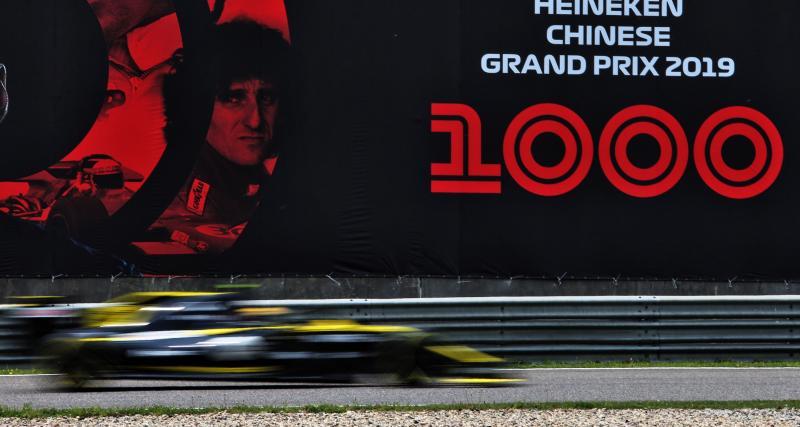 Renault au Grand Prix de Chine de Formule 1 : retour sur la course en images