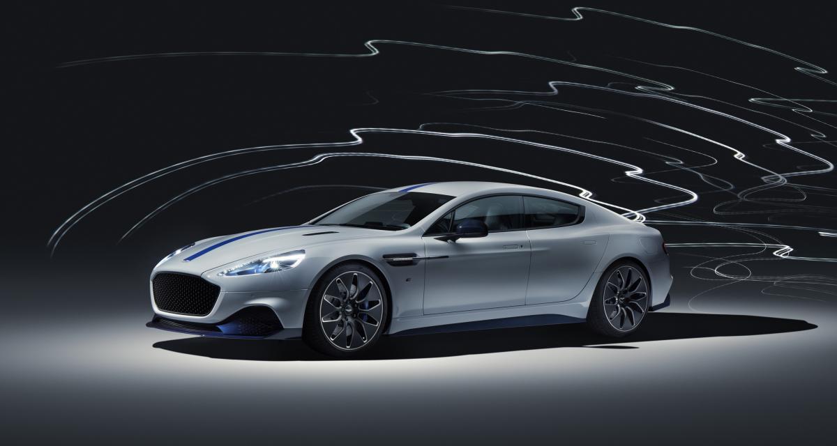 Rapid E : toutes les photos de la 1ère voiture électrique Aston Martin