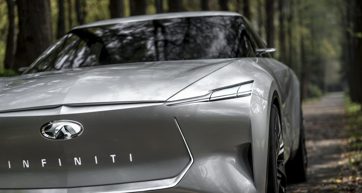 Infiniti Qs Inspiration : le concept de berline électrique sportive en photos