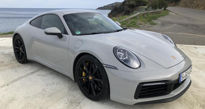 Porsche 911 (Type 992): les photos de notre essai de la version Carrera S