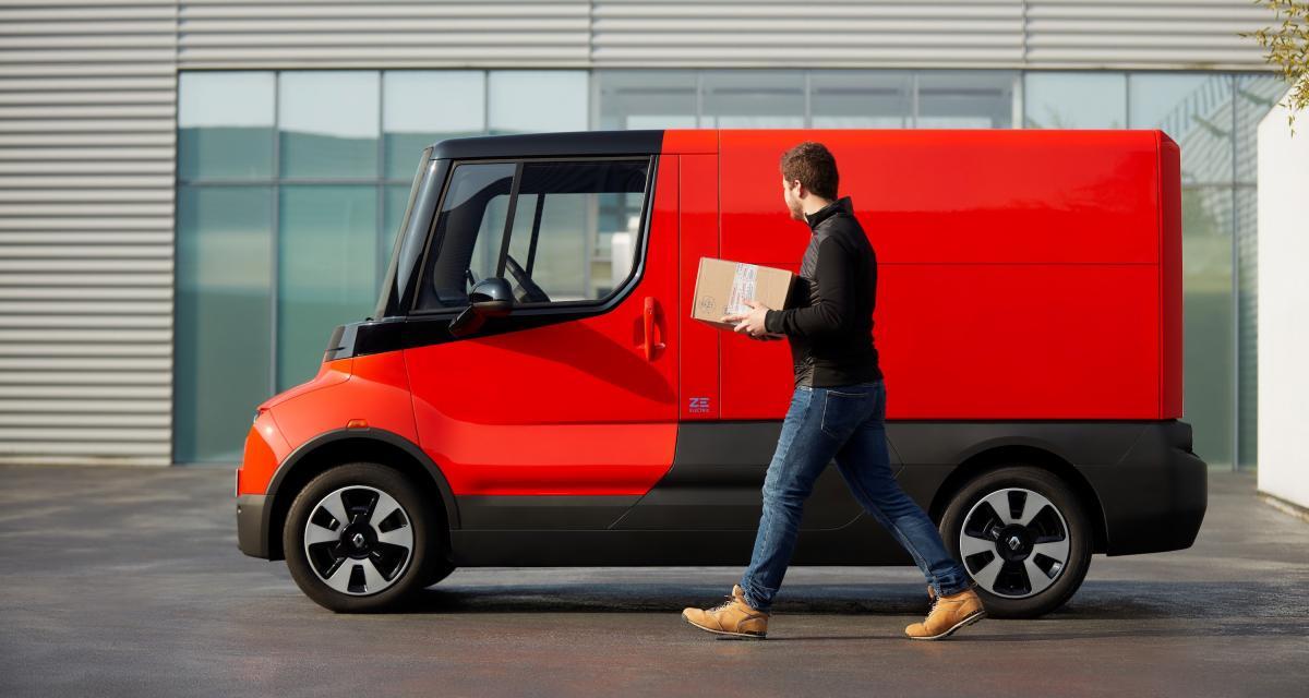 Renault EZ-Flex : le véhicule autonome et électrique dédié à la livraison en photo