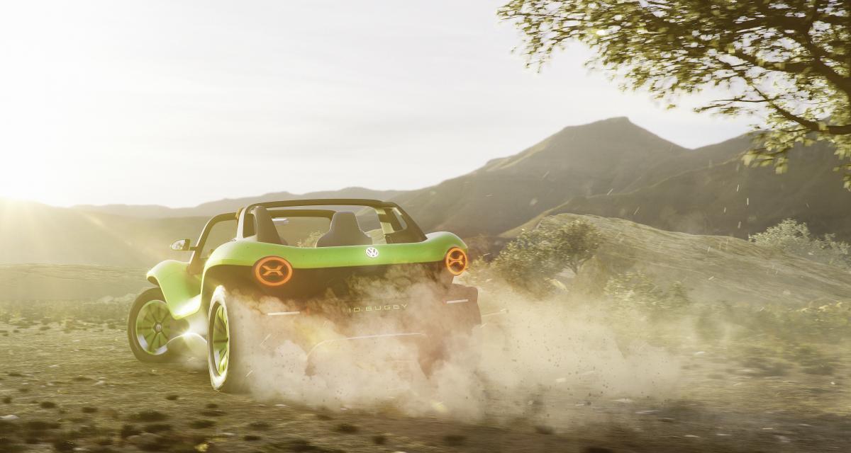 ID Buggy de Volkswagen : 250 km d'autonomie pour le buggy électrique de Volkswagen