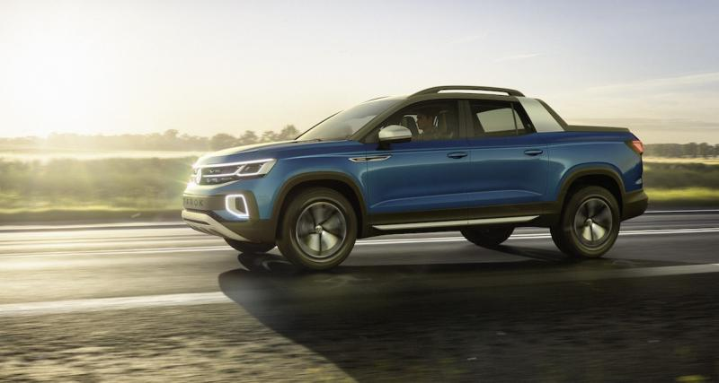 Volkswagen Tarok Concept : pick-up extensible