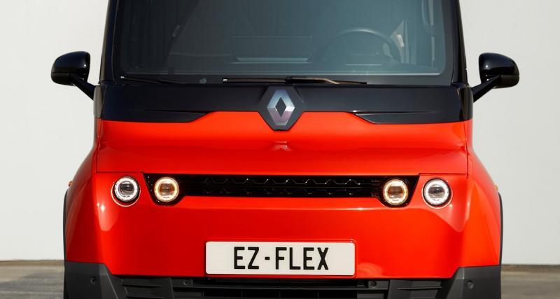 Renault EZ-Flex : l'utilitaire électrique et autonome pour la livraison en 3 points