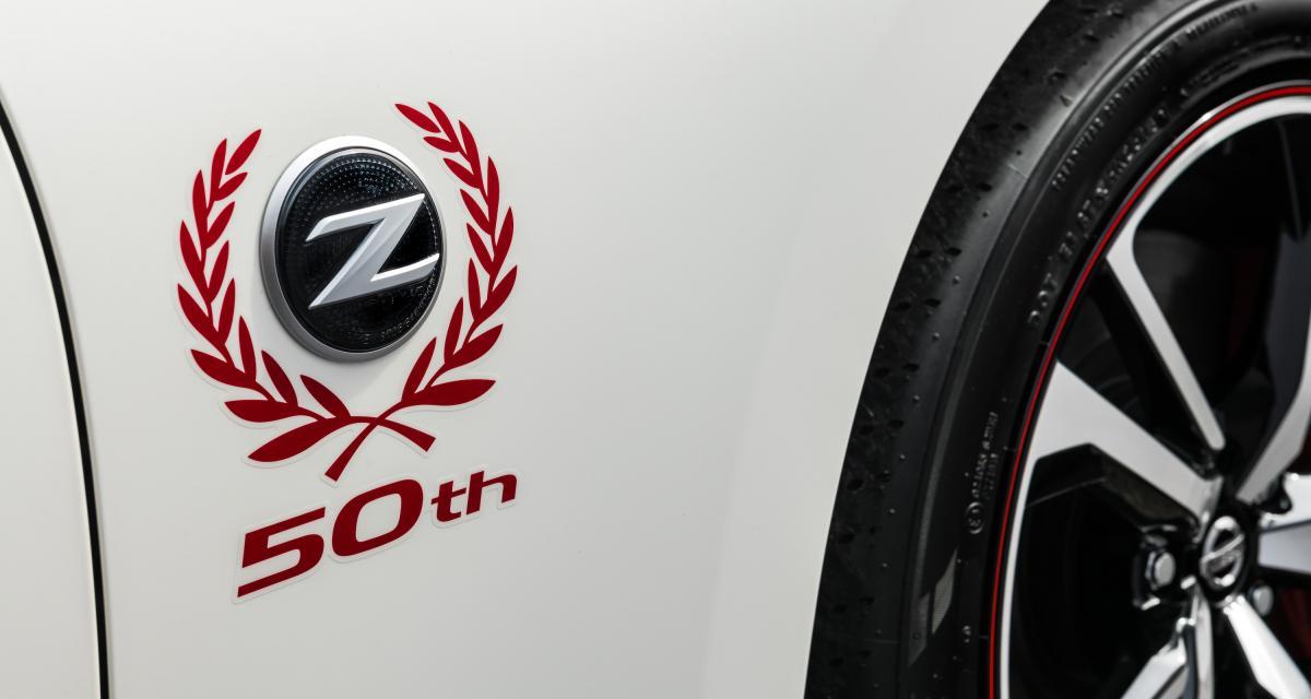 Nissan 370Z 50th Anniversary : l'édition spéciale en 3 points