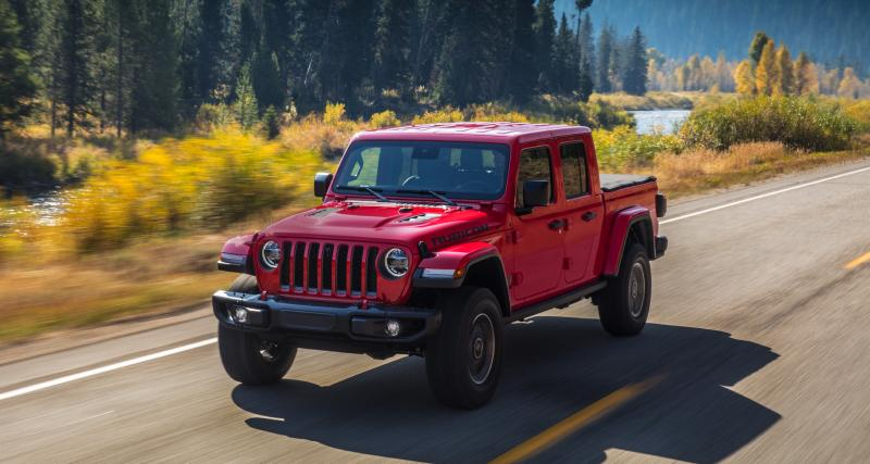 Jeep Gladiator 2020 : 1ère apparition en Europe en juillet, toutes les photos du pick-up