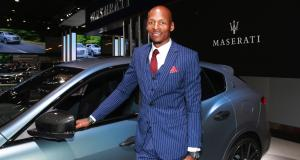 L'ancien joueur NBA Ray Allen a reçu sa Maserati Levante GTS personnalisée