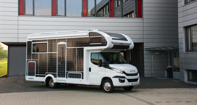 Dethieffs e-Home : le camping-car éléctrique à recharge solaire en 4 points
