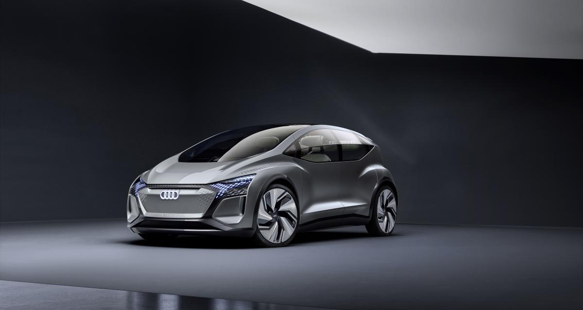 Audi AI:ME: le concept électrique en 4 points