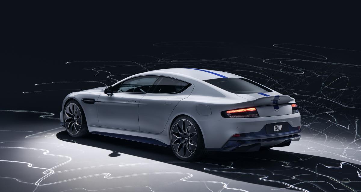 Aston Martin Rapide E: la berline 100% électrique en 4 points