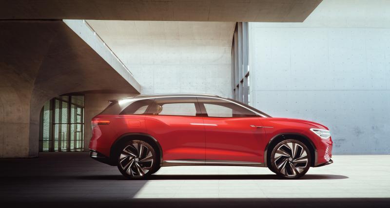 Volkswagen ID. Roomzz : le concept de SUV électrique en 4 points