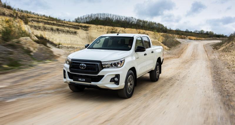 Toyota Hilux : une édition spéciale pour fêter son succès en Europe
