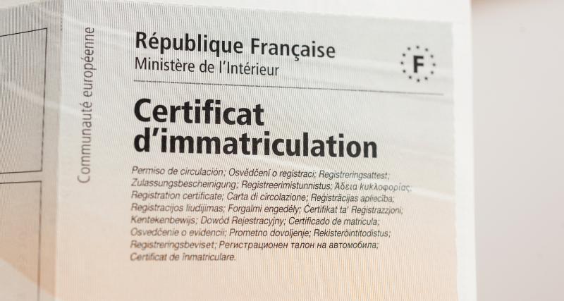 Calcul et démarches pour obtenir son certificat d'immatriculation