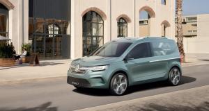 Renault Kangoo Z.E. : toutes les photos du concept de l'utilitaire