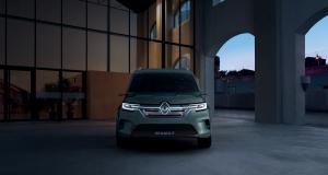 Renault Kangoo Z.E. : l'utilitaire se modernise