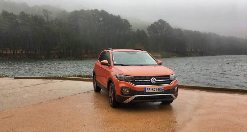 Volkswagen T-Cross : les premières photos de notre essai du SUV