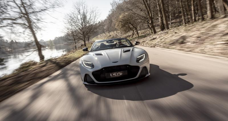 Aston Martin DBS Superleggera Volante : toutes les photos