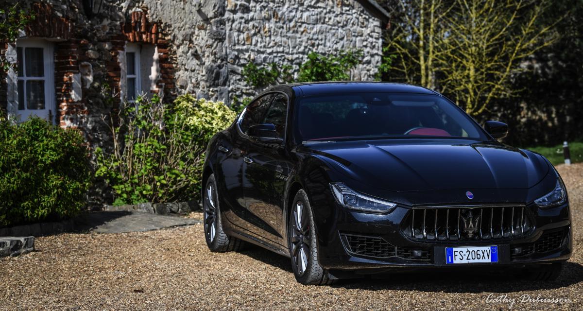 Essai de la Maserati Ghibli SQ4: retrouvailles au volant de la belle italienne