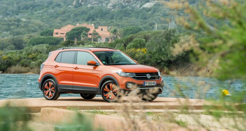 Essai du Volkswagen T-Cross : les photos de l'essai en Corse du Sud