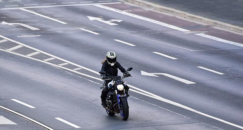 Un motard flashé à 205 km/h sur une départementale