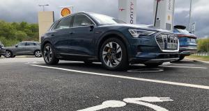 Essai de l'Audi e-tron : nos photos du SUV 100% électrique