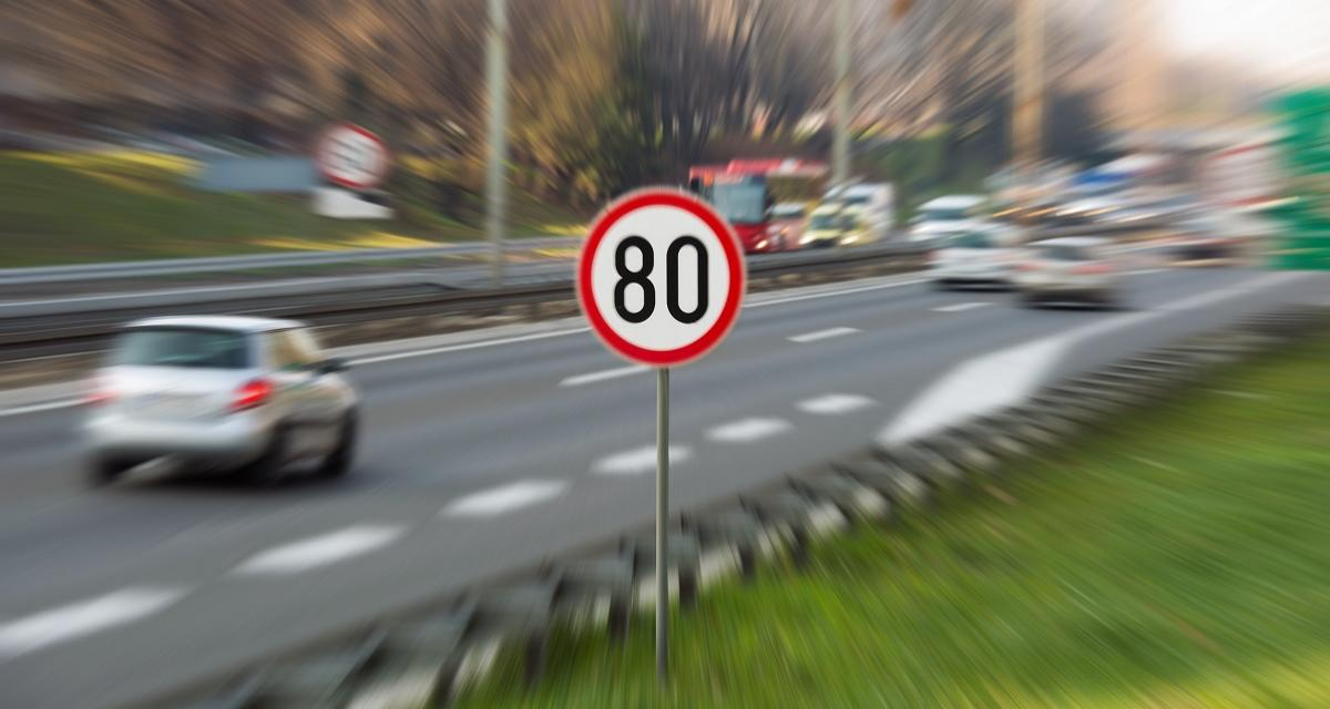 Flashé au volant par les gendarmes à 170 km/h sur une route limitée à 80