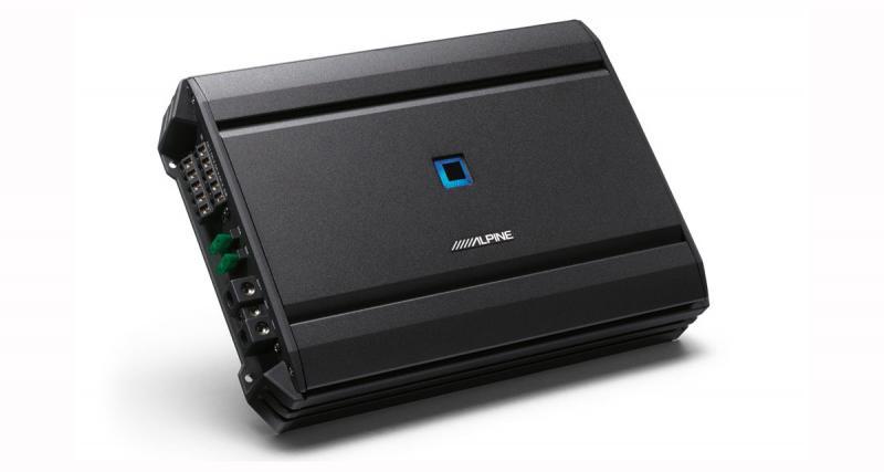 Alpine S-A55V : un ampli 5 canaux puissant, compact et fonctionnel