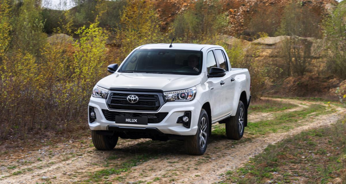 Toyota Hilux Special Edition : le pick-up en trois points