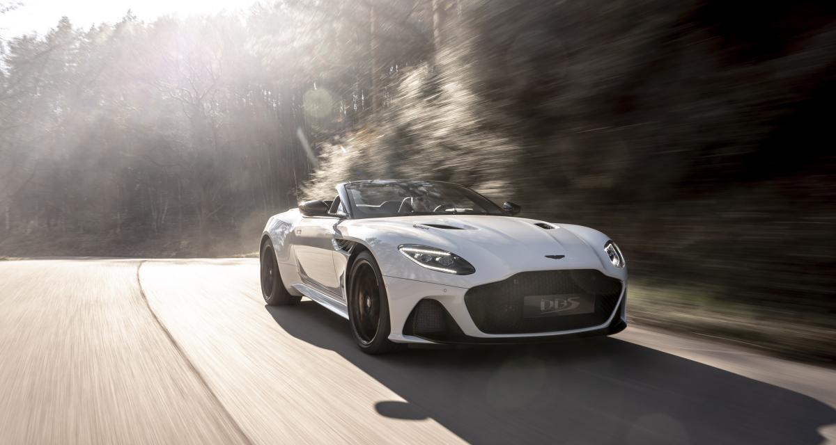 Aston Martin DBS Superleggera Volante : la GT Cabriolet en quatre points