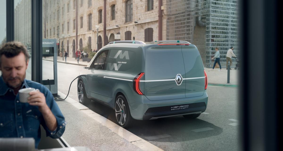 Renault Kangoo Z.E. : le concept en trois points