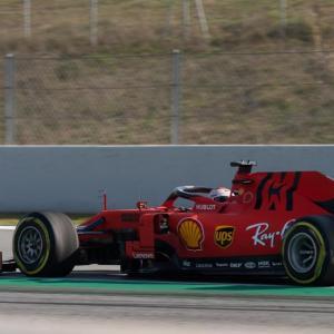 Charles Leclerc / GP d'Azerbaïdjan : un arrêt bien tardif...
