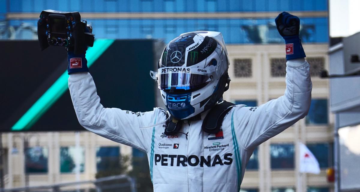 GP d'Azerbaïdjan de Formule 1 : le doublé Mercedes Bottas / Hamilton en photos