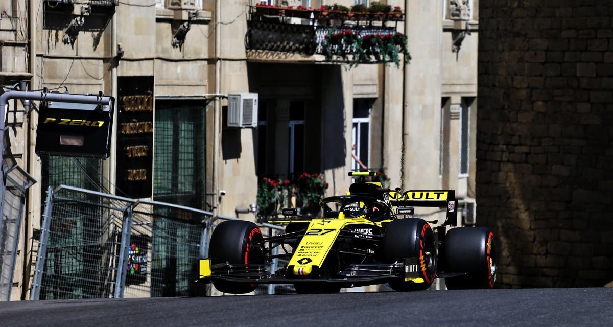 Renault au GP d'Azerbaïdjan de F1 : retour sur la course en images