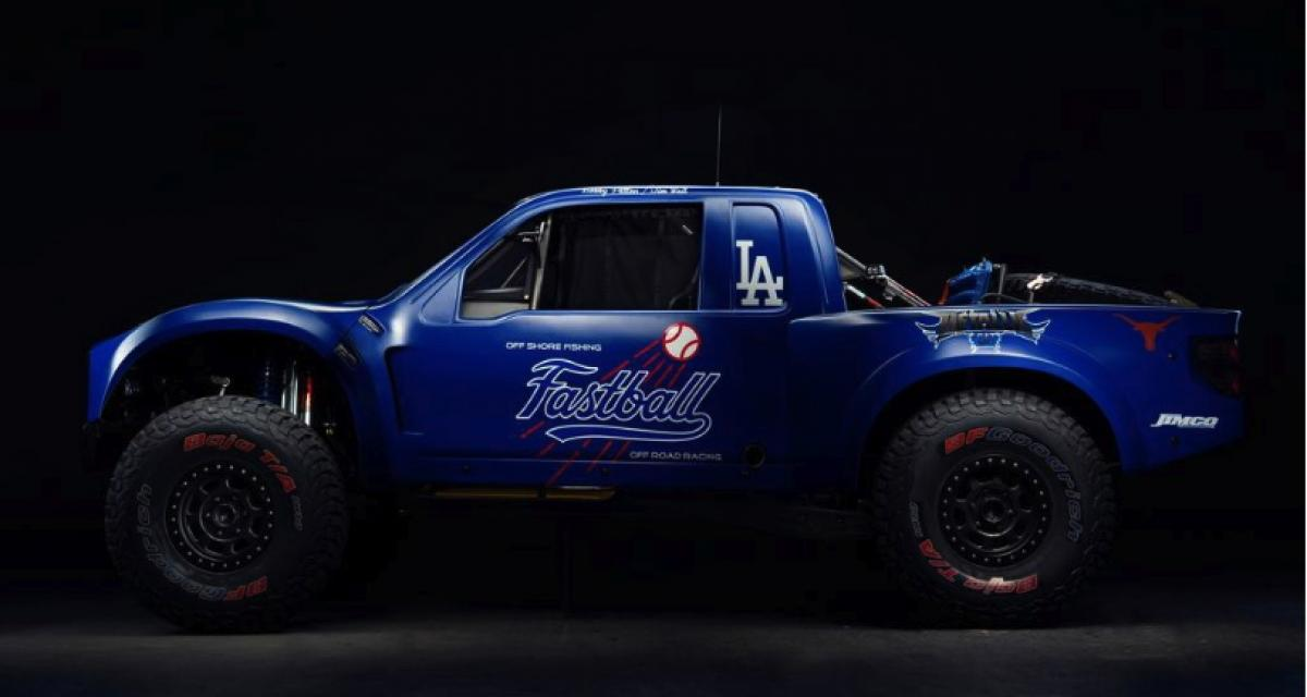 "Pick-up Ford Raptor ""Fastball"" par Jimco Racing : le baseball autrement"