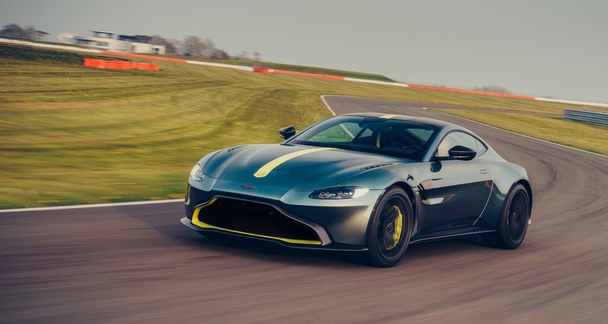 Aston Martin Vantage AMR : toutes les photos du coupé à boîte manuelle