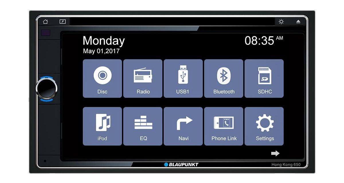 Un nouvel autoradio 2 DIN avec connectivité Smartphones chez Blaupunkt