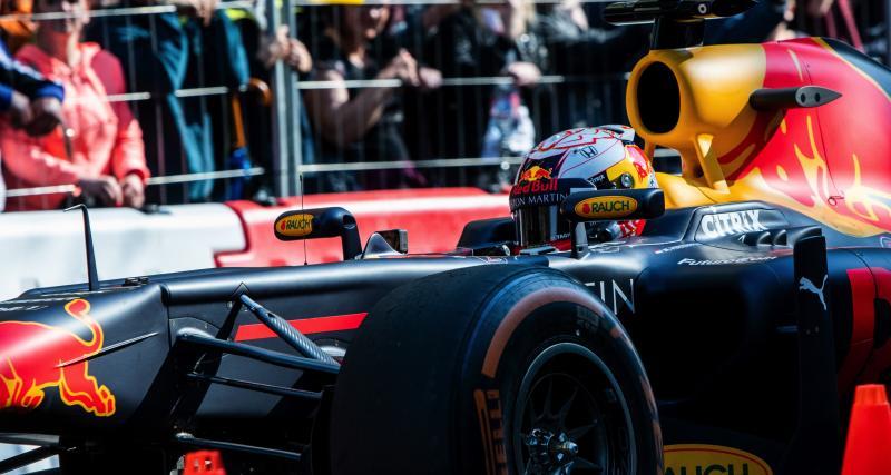Red Bull fait le show en Hongrie avec Max Verstappen : les photos