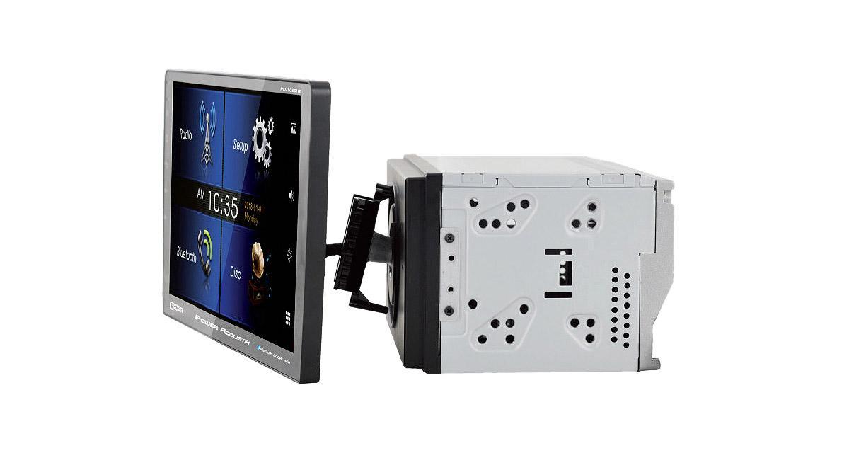 Power Acoustik présente un combiné multimédia avec écran de 10 pouces