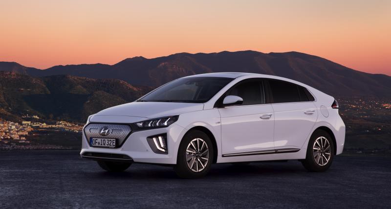 Hyundai Ioniq Electric 2019 : toutes les photos de son restylage