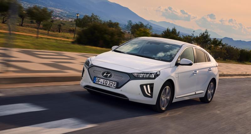 La Hyundai Ioniq Electric restylée en trois points