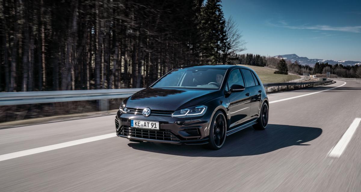 La Volkswagen Golf VII R ABT en trois points