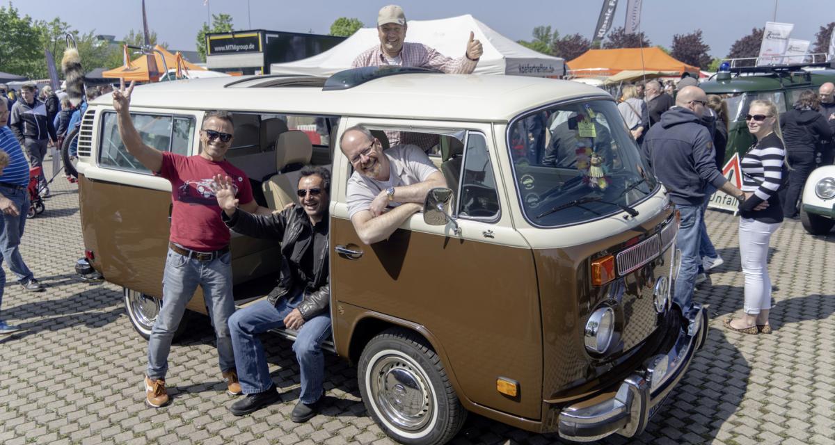 Bug Meet à Hanovre : la Cox et le Combi en fête