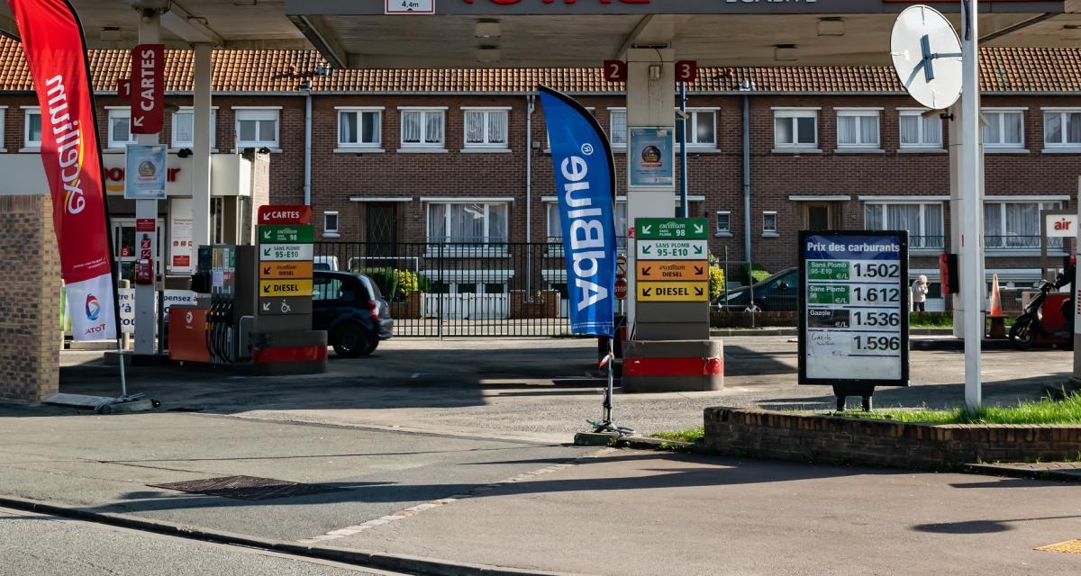 Le litre d'essence le plus cher de France : 2,074 euros